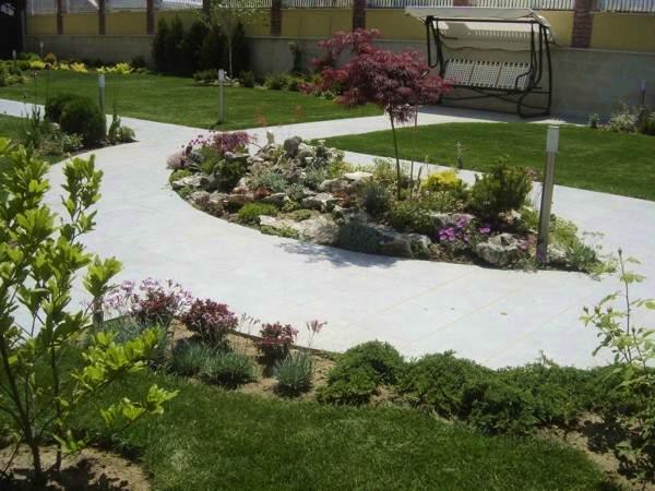изграждане градини - озеленяване